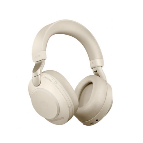 Jabra Evolve2 85 Link 380a Uc Stereo Beige Bluetooth Wireless Headset