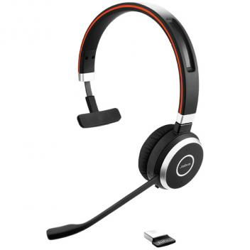 Jabra Evolve 65 Duo Wireless Bluetooth Headset for Microsoft Lync