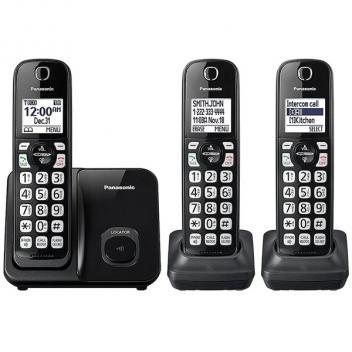 Panasonic KX-TGEA40B1 Accessory Cordless Handset - Black