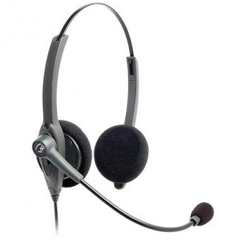 VXI Passport 21V Over-the-head Binaural Headset with N/C Microphone - Box