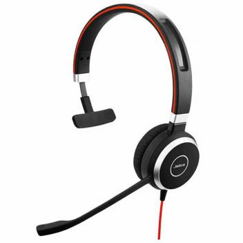 Jabra Evolve 40 Mono Wired Headset Without Controller