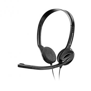 Dual Ear PC Headset 1/8 inch 3.5MM