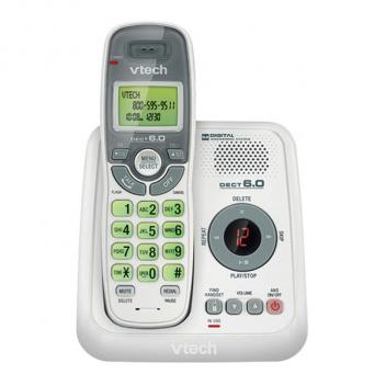 Vtech VT-CS6124 DECT 1.9 GHz Caller ID Cordless Phone