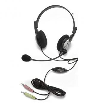 Andrea Noise Canceling Stereo Headset with Volume Control