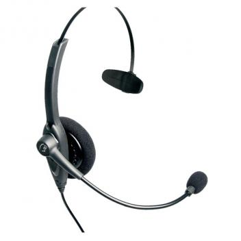 VXI Passport 10V Over-the-head Mono Headset with N/C Microphone - Box