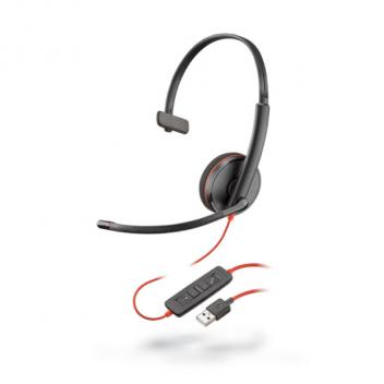 Plantronics Blackwire 3210 USB-A Corded Headset