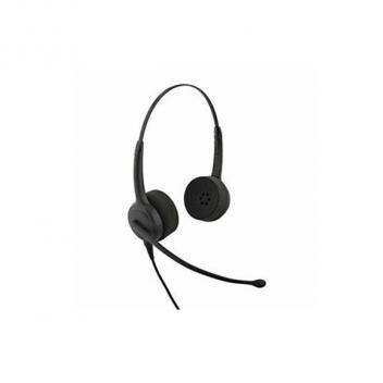 CC Pro 4021V DC Over-the-head Binaural Headset with DC N/C Microphone - Bulk