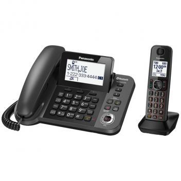 Panasonic KX-TGF380M Link2Cell Cordless/Corded Phone - 1HS
