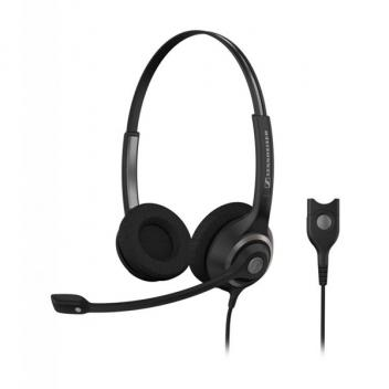 Sennheiser SC260 Wideband Duo Headset with Noise Canceling Mic