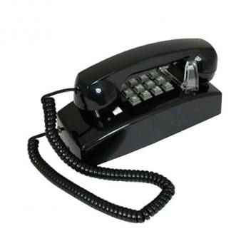 Cortelco Value Line Wall Phone - Black