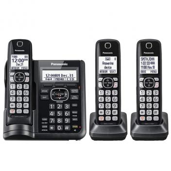 Panasonic KX-TGF543B One-Touch Call Block Cordless Handsets