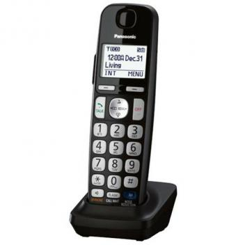 Panasonic KX-TGEA20B DECT 6.0 Extra Cordless Handset - Black