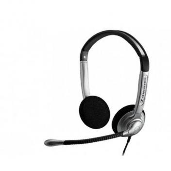 Sennheiser SH350 IP Wideband, Duo Headset with Noise Cancelling Mic