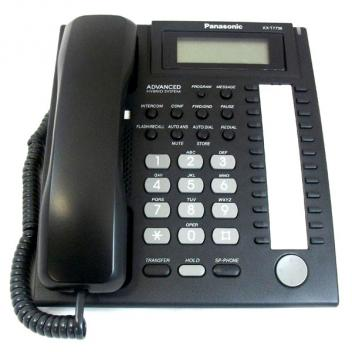 Panasonic KX-T7736-B 3-Line LCD 24 Button Speakerphone Corded Phone
