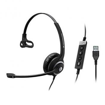 Sennheiser SC230 USB CTRL II Noise Cancelling Mono Wideband Headset