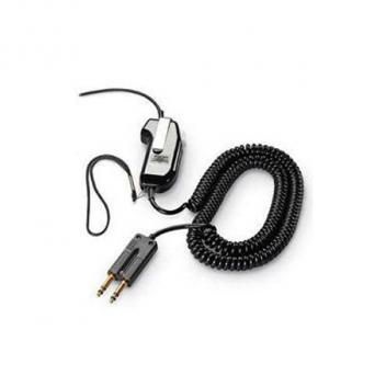 Plantronics SHS2310-10 - Push to key Switch with QD - Receiver amplification - 10 Coil Cord