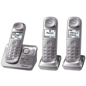 Panasonic KX-TGL463S Link2Cell 3 Cordless Handsets - Silver