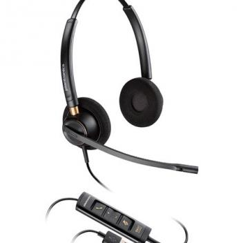 Plantronics ENCOREPRO HW525 Binaural USB Corded Headset