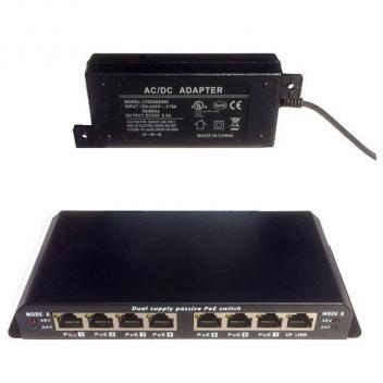 Cortelco 8 Port Gigabit PoE Switch