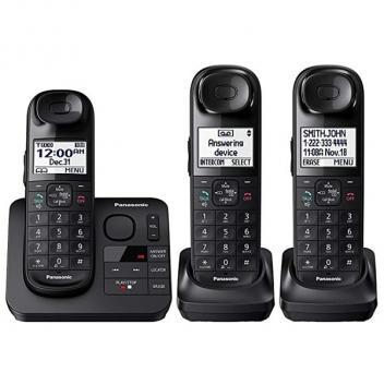 Panasonic KX-TGL433B Expandable 3 Cordless Handsets