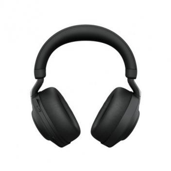 Jabra Evolve2 85 Link 380C MS Stereo Wireless Headset w/ Stand - Black