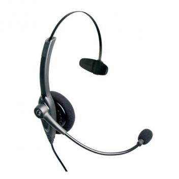 VXI Passport 10V Over-the-head Mono Headset with N/C Microphone - Bulk