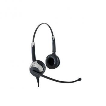 VXI UC ProSet 21V DC Over-the-head Binaural Headset With DC N/C Microphone - Bulk