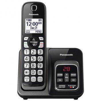 Panasonic KX-TGD530M Expendable Cordless Phone - Black