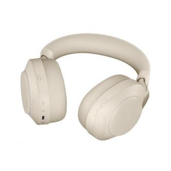 Jabra Evolve2 85 Link 380A UC Stereo Stand Beige Wireless Headset