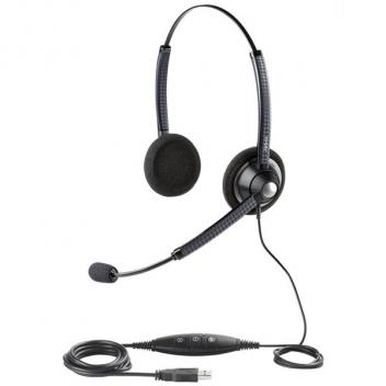 Jabra BIZ 1900 USB Duo Noise Cancelling Wired Headset