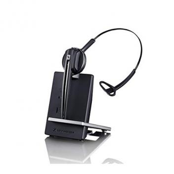 Sennheiser D10 USB Wireless DECT headset (monaural) with base station