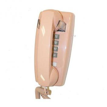 Cortelco Wall Phone with Volume - Beige