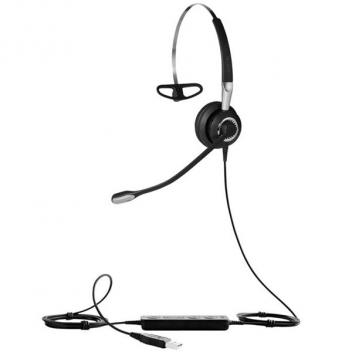 Jabra BIZ 2400 II 3 in 1 Mono USB Wired Headset with NC Mic for Microsoft Lync