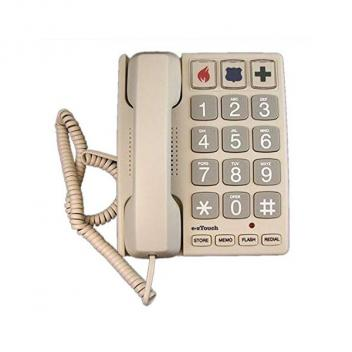 Cortelco Big Button SAND EZ Touch Corded Phone