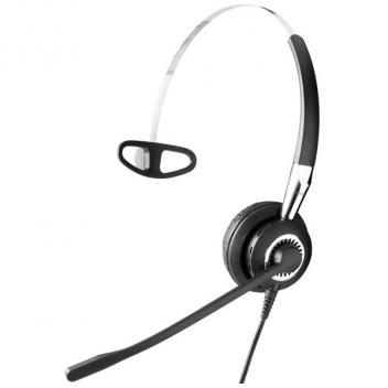Jabra BIZ 2400 II Mono Headset with Noise-Cancelling Microphone