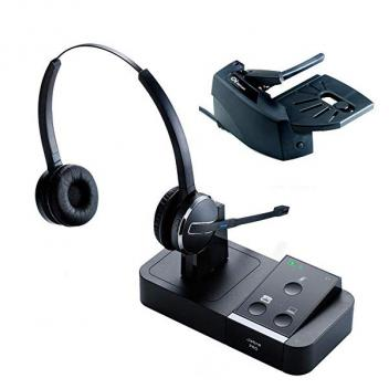 Jabra PRO 9450 Duo Bluetooth Headset with Lifter