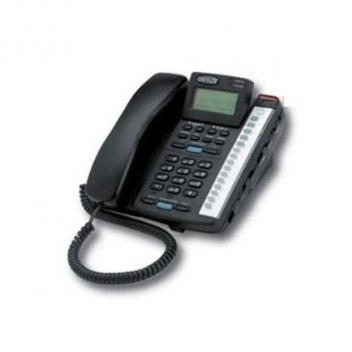 Cortelco Colleague 2-Line EN BK Telephone