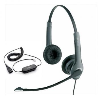 Jabra GN 2025 IP Duo NC Corded Headset with GN1200 Cable