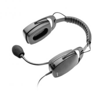 Plantronics SHR2083-01 Industrial Noise Canceling for Noisy Environments Wired Headset