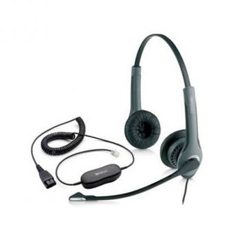 Jabra GN2025 Duo NC Corded Headset With GN1200 Cable