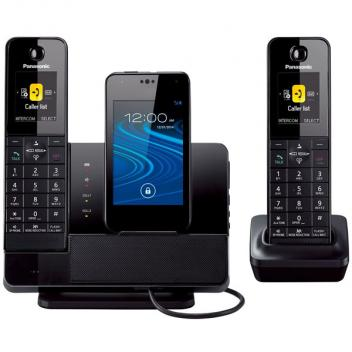 Panasonic KX-PRD262B Link2Cell Caller ID Bluetooth Cordless Handsets
