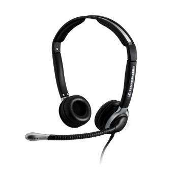 Sennheiser CC520IP Wideband, Duo Headset with Ultra-Noise Cancelling Mic
