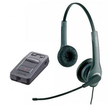 Jabra GN2015 Duo Wired Headset with LINK 850 Amp