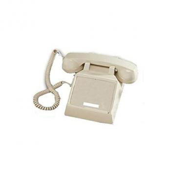 Cortelco No Dial Desk Phone - Ash
