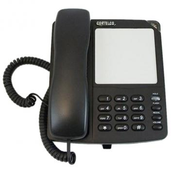 Cortelco Colleague Basic Black Corded Phone