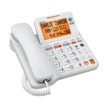 AT&T CL4940 Corded Phone System with Answering Machine