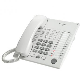 Panasonic KX-T7720 24 Button Speakerphone Corded Phone - White