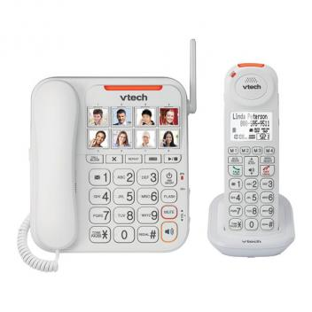 Vtech VT-SN5147 Caller ID Careline Amplified Corded/Cordless Phone