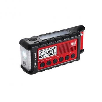 Midland Radio Emergency Dynamo Crank Radio with Battery