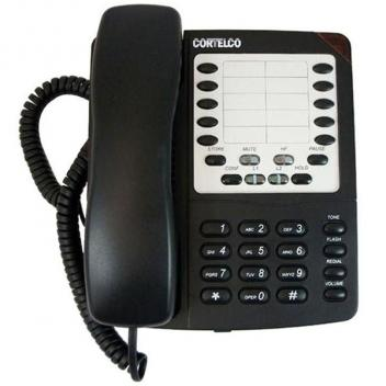 Cortelco Colleague 2-Line Telephone - Black